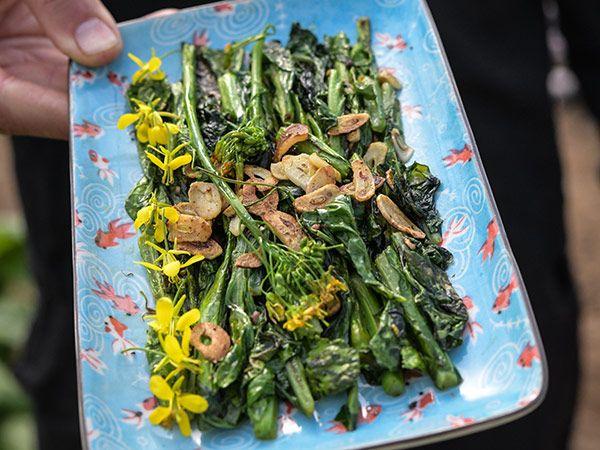 200 Seeds Tendergreen Mustard Brassica juncea Spinach mustard Komatsuna USA